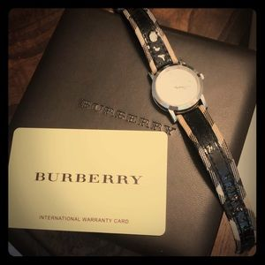 Women's Burberry wrist watch